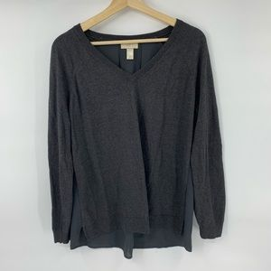 Ann Taylor Loft V-neck Sweater M